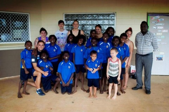 Walk the Talk at Tiwi College
